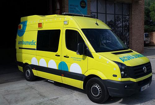 Retolació ambulàncies