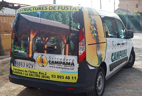 Furgoneta Serradora Campamà