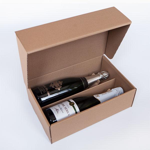 Caixa Automuntable C2AK 2 ampolles